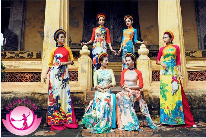 Áo dài là nét đặc sắc trong văn hóa Việt Nam