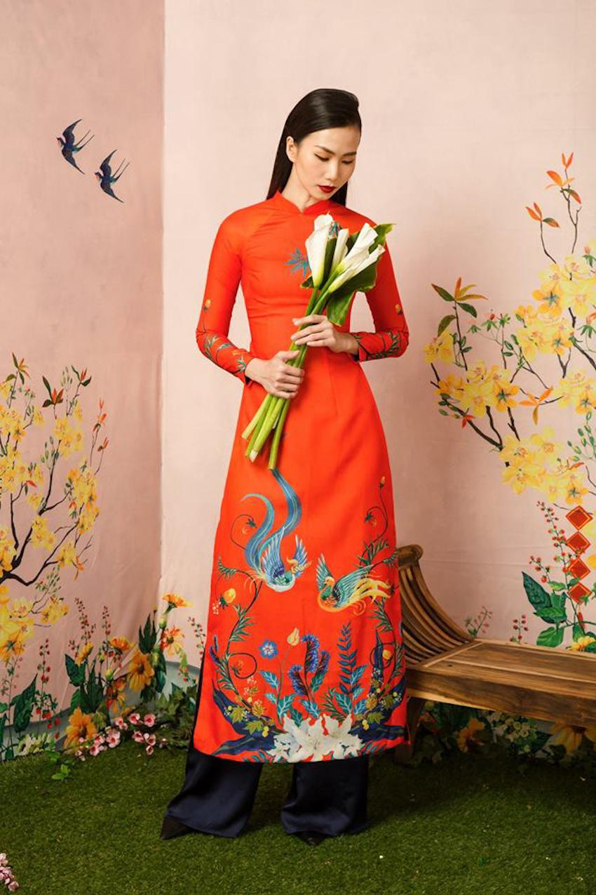 Mẫu áo dài đẹp nào phù hợp với bạn nhất trong dịp tết?